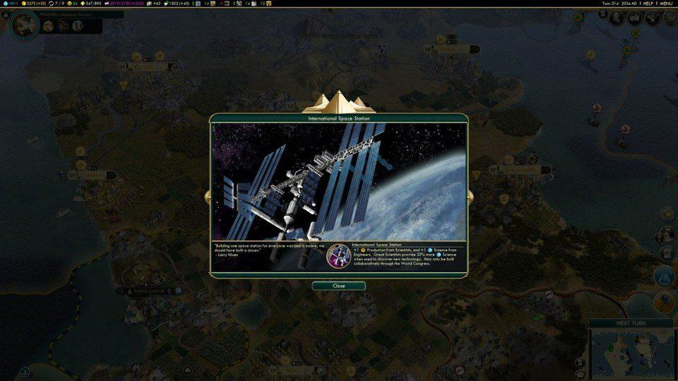 Civilization 5 Mac gameplay 2
