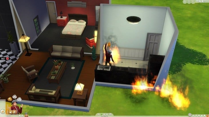 The Sims 4 Mac screenshot HIGHEST