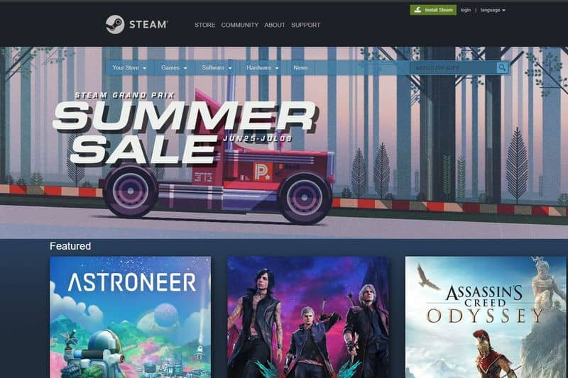 Steam Summer sale Mac