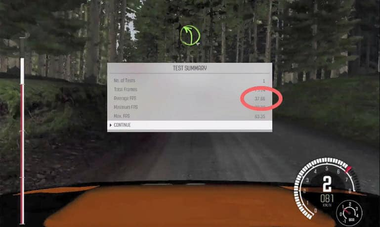 Dirt Rally Mac test 2012 MacBook Pro