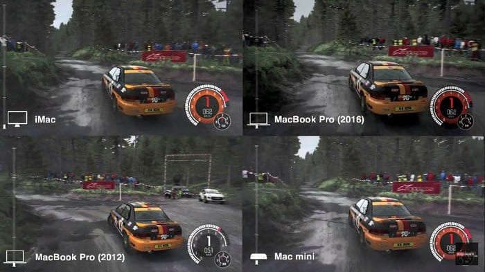 Dirt Rally Mac tests