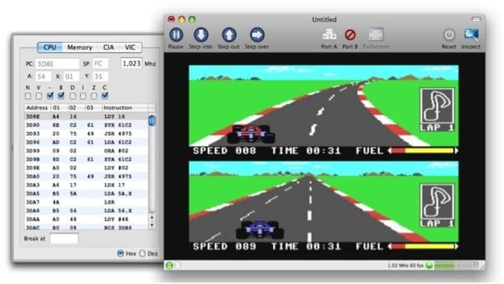 VirtualC64 Mac