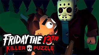 Friday the 13th Killer Puzzle Mac art NEW