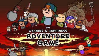The Cyanide & Happiness Adventure Game Mac art NEW