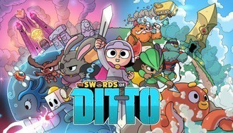The Swords of Ditto Mac art NEW