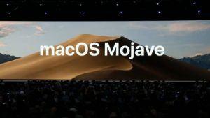 MacOS Mojave reveal