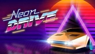 Neon Drive Mac art