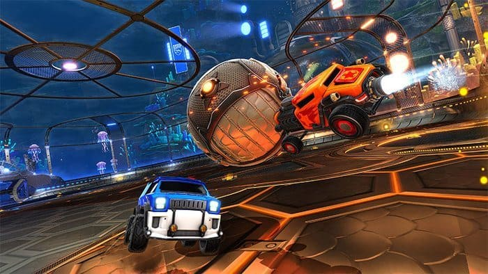 Rocket League Mac featured
