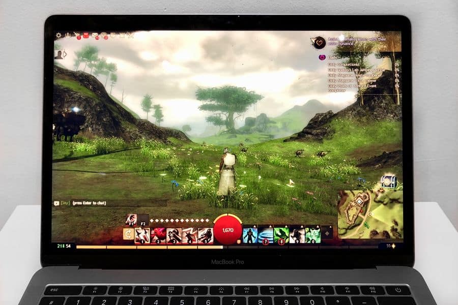 Guild Wars 2 MacBook Pro