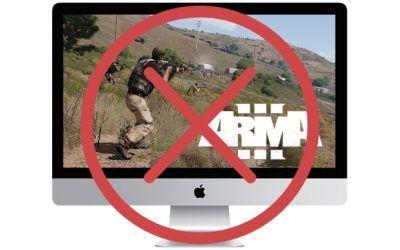 Arma 3 for Mac is no longer in development…