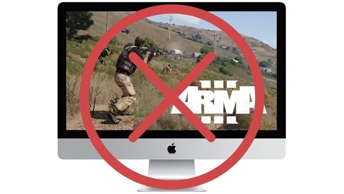 Arma 3 for Mac is no longer in development…