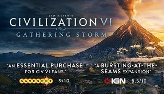 Civ 6 Gathering Storm Mac art
