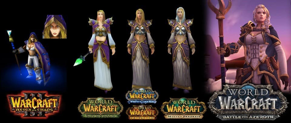 World of Warcraft graphics evolution