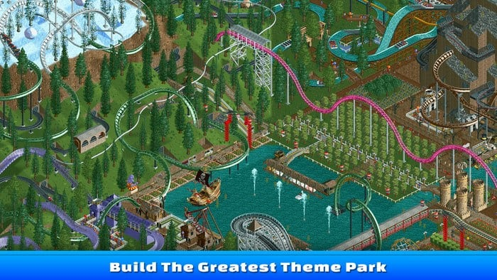 Rollercoaster Tycoon Classic Mac