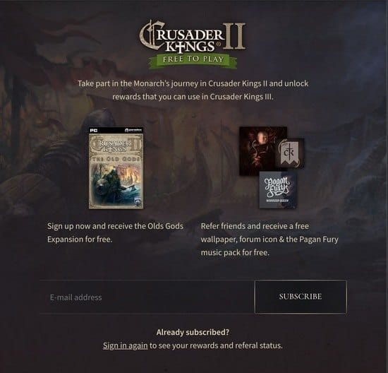 Crusader Kings 2 Mac free expansion
