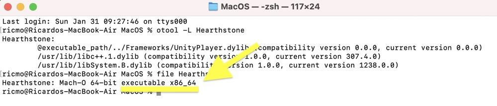 Hearthstone Mac Metal and Rosetta 2 support