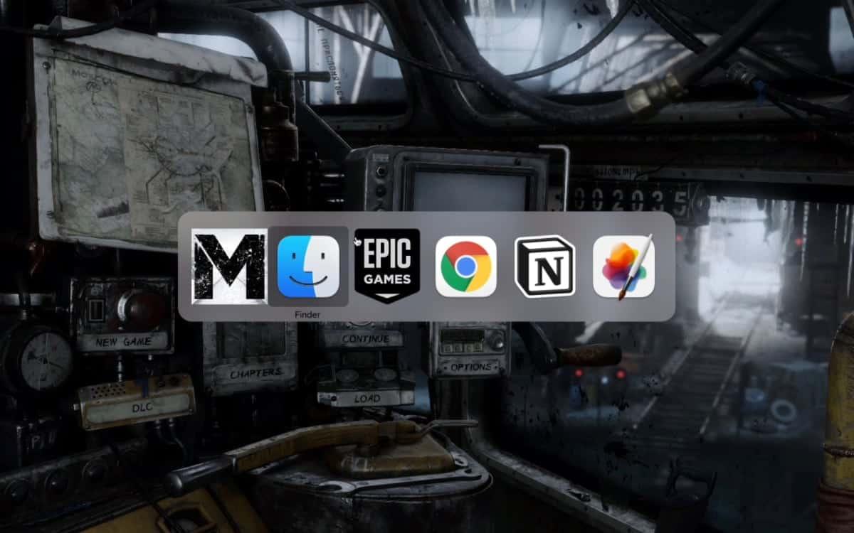 Metro Exodus on M1 Mac Apple Silicon